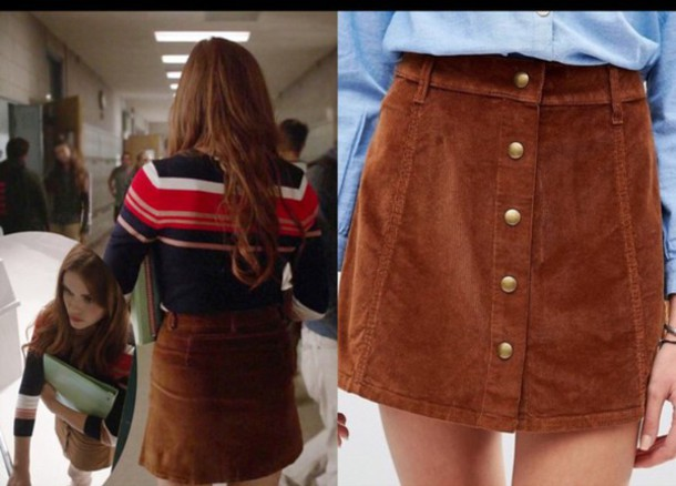 skirt lydia martin button up need  want need love teen wolf