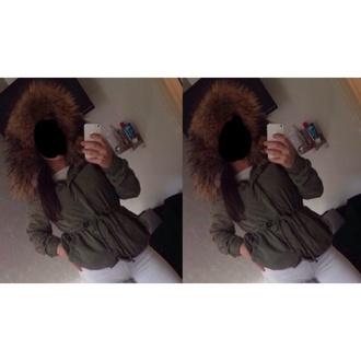 coat green jacket beige jacket