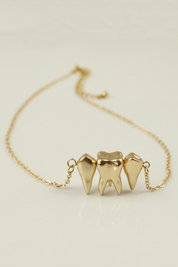 Pendant clasp fastening necklace oasap teeth pendant clasp fastening necklace oasap audiocablefo