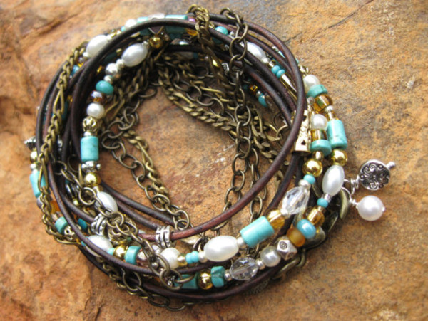 jewels boho leather wrap bracelets