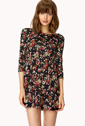 Favorite Floral Dress | FOREVER21 - 2000126840