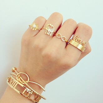 jewels elephant infinity ring ring jewelry gold gold ring infinity love