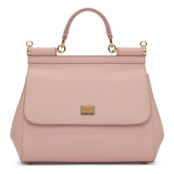 Dolce and Gabbana Dolce & Gabbana Pink Medium Miss Sicily Bag
