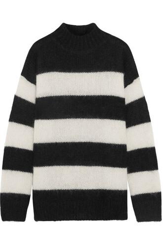 sweater mohair black