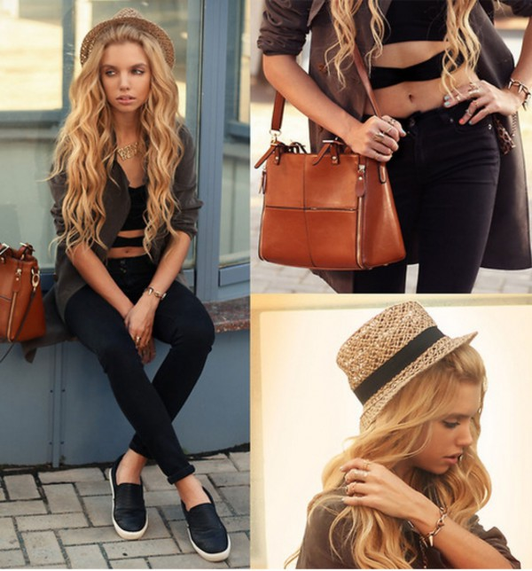 jewels ring bag swag streetstyle stylemoi accessories bracelets necklace straw hat