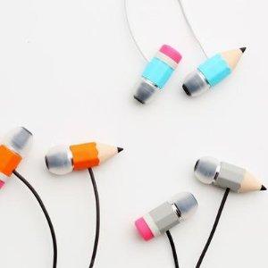 Amazon.com: Magic Pencil Earphones - Orange: Electronics