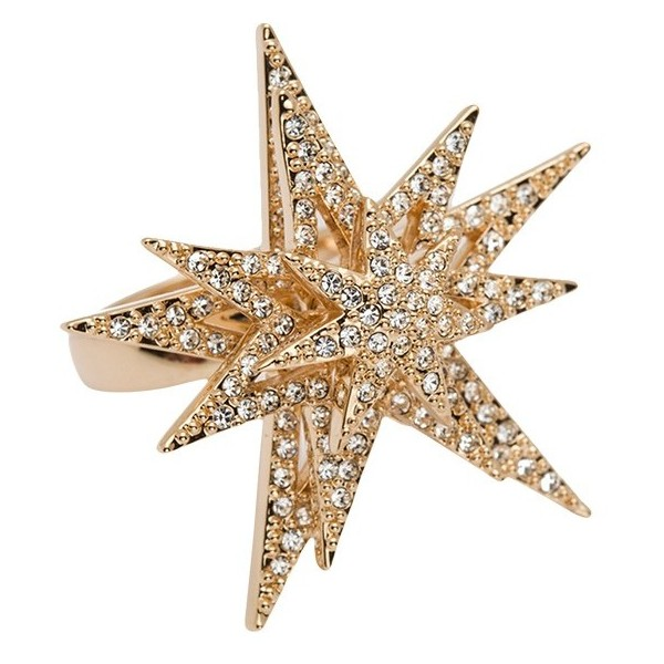 CC Skye Spinning Star Ring - Polyvore