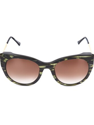 bunny sunglasses green