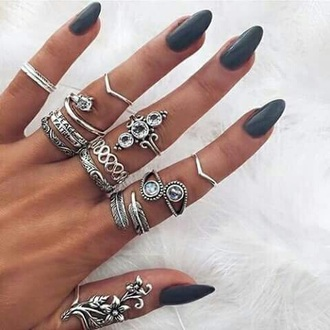 jewels jewelry boho boho chic boho jewelry bohemian silver silver ring knuckle ring ring rings and tings ring stack sterling silver silver jewelry hippie jewelry jewelry ring