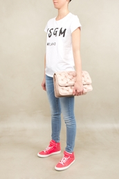 t-shirt,clothes,designer,white t-shirt,MSGM,dress