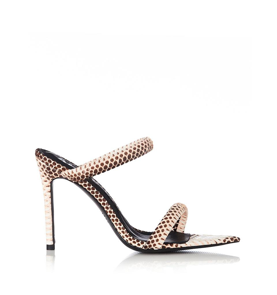 Dua - Sand Snakeskin - 36 - Heels