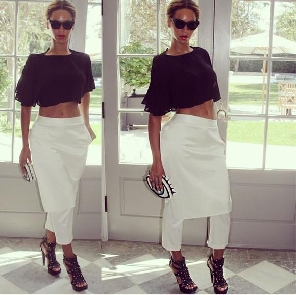 pants beyonce fashion beyonce bottoms skirt