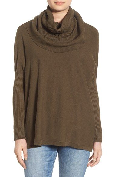 by Debut Cowl Neck Boxy Pullover | Nordstrom