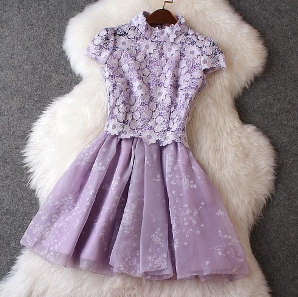 purple dress dress lace dress lace