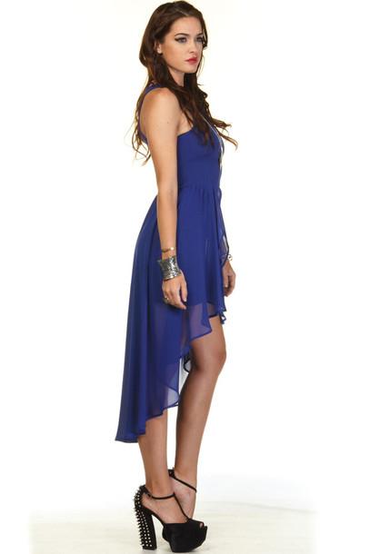 Dress Black Heel Shoes Hilo Dress Blue Hilo Prom Dress Wheretoget