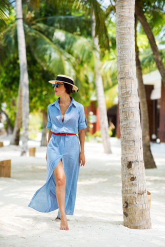 gary pepper girl blogger shirt dress swimwear belt hat jewels sunglasses