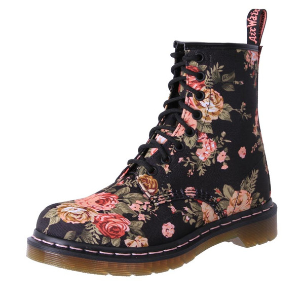 Dr. Martens Womens 1460 8 Ups Boots Victorian Flower Floral  3f353aad9a