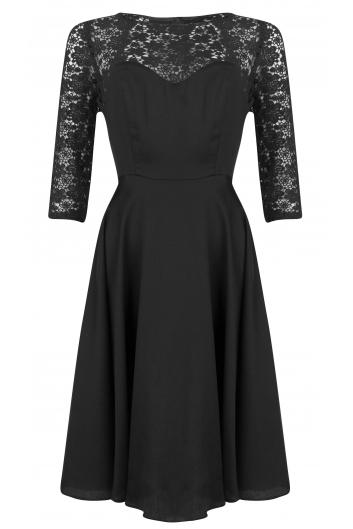 The Black Grace Kelly Dress by BANNOU - BANNOU