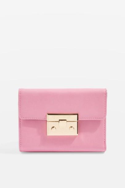 purse pink bag