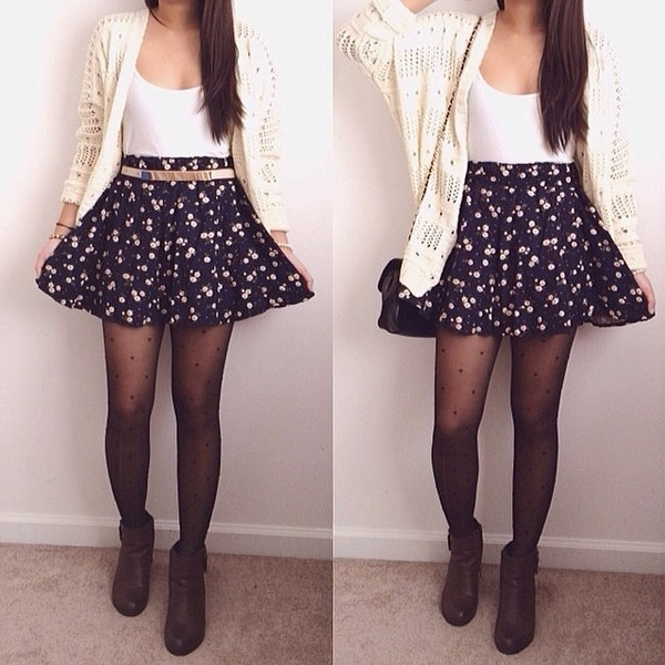 jacket skirt shirt underwear