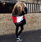 jacket,sweater,sweatshirt,tommy hilfiger,tommy hilfiger sweatshirt,tommy hilfiger jacket,blue,red,white,style,outfit,cool,girl,girly,tommyhilifier jacket,fashion