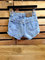 Vintage 90s ck calvin klein high waist cheeky cutoffs frayed denim mom jeans shorts 4 x 30