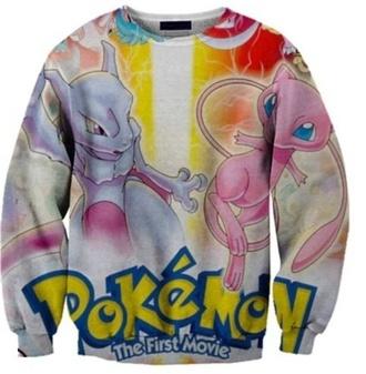 sweater pokemon mew pokemon
