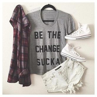 blouse shoes shirt hotpans