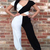 Women Sexy Jumpsuit Patchwork Cocktail Openback V Neck Coveralls Bodycon New | eBay