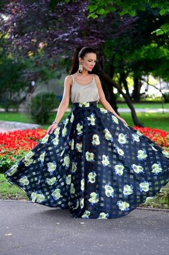 my silk fairytale blogger top skirt bag jewels