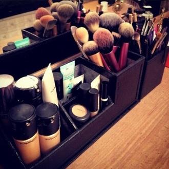make-up cosmetics organiser holder storage organizer mac exact box