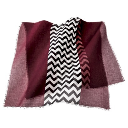 Mossimo Supply Co. Chevron Scarf - Maroon : Target