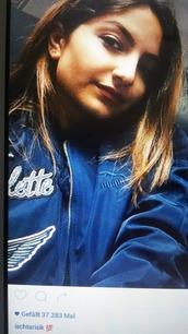 jacket,blue,puma,bomber jacket
