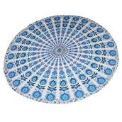 home accessory,beachroundie,blue mandala,mandala roundies,tapestry,mandala