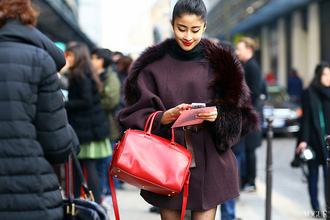 bag coat chic muse