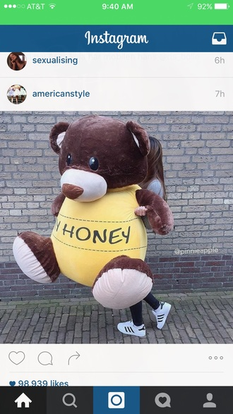 home accessory brown yellow gaint teddy bear gift ideas valentines day