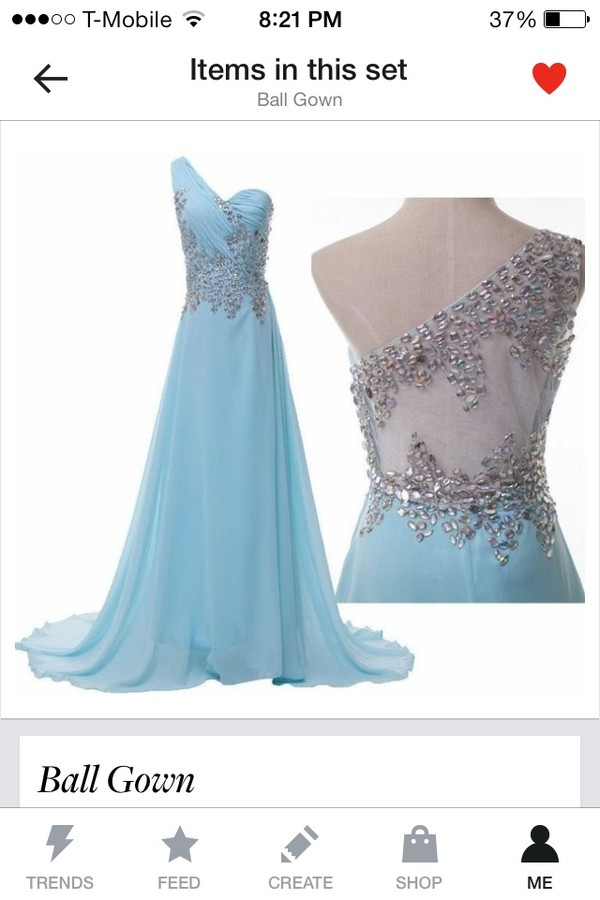 dress blue dress prom dress long prom dress blue crystal