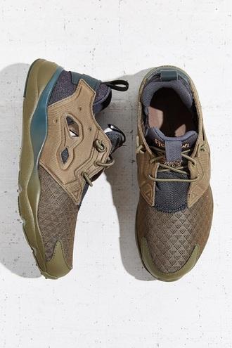 shoes reebok furylite olive reebok olive green khaki green