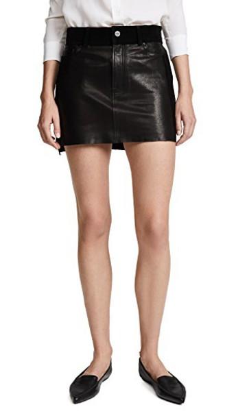 FRAME skirt noir