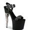 Bullet gun pistol heel platform sandals and wide range of unique 7 to 8 inch heel at electriqueboutique.com