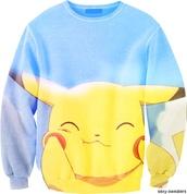 sweater,pokemon,pikachu,britain