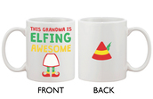 phone cover,christmas mug,xmas mug,ceramic mug,white mug,grandma mug,grandpa mug,grandpa gift,grandma gift,coffee,morning mug,espresso cup,mug cup white