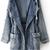 ROMWE | Fading Hooded Denim Coat, The Latest Street Fashion