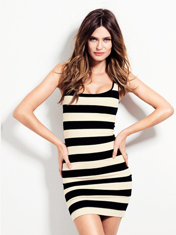 Stripes Mini Dress
