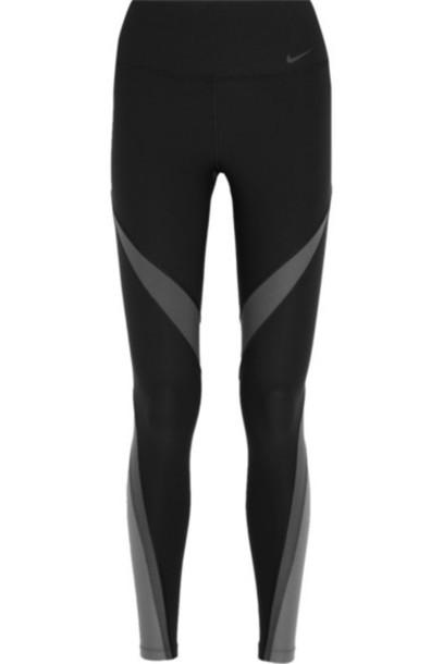 09494d33d1fbde Nike - Power Legend Twist Stretch-jersey Leggings - Black - Wheretoget