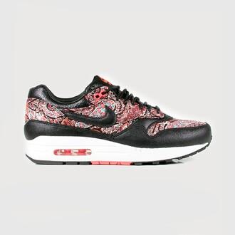 shoes nike air max nike air max 1 x libery london nike air max 1 original nike running shoes nike air max liberty london