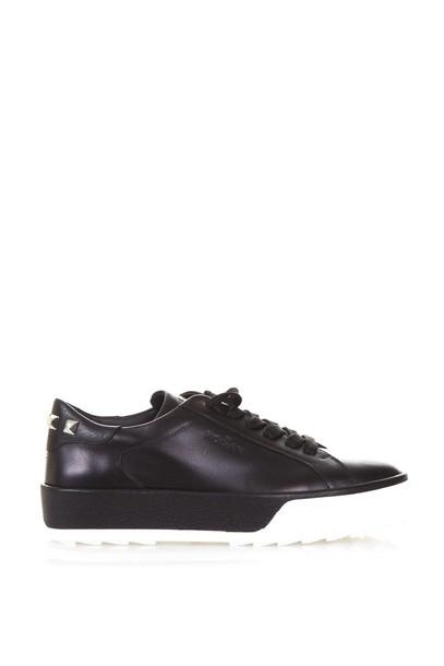 Hogan leather black shoes