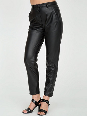 Vegan Leather Tap Pant | American Apparel