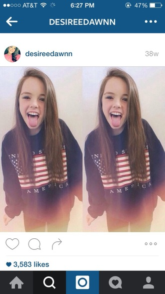 sweater america united states navy bkue navy american flag sweatshirt