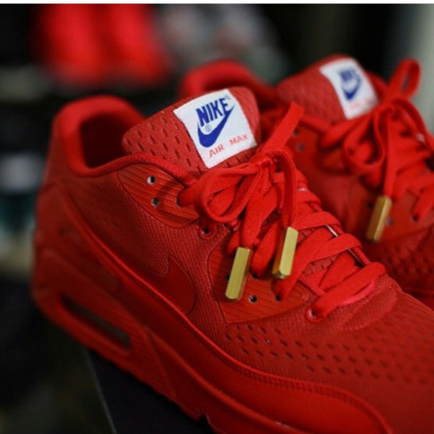 Nike Tennis Shoes Red